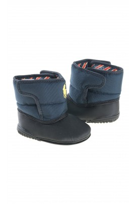Boots - navy blue baby snow boots, Polo Ralph Lauren