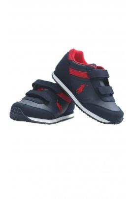 Navy blue-and-red sports boots, Polo Ralph Lauren