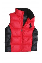 Red-and-black boy gilet, Polo Ralph Lauren