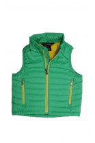 Green-and-yellow girl gilet, Polo Ralph Lauren
