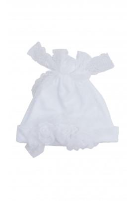 White baptism cap, Aletta