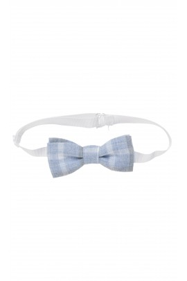 Blue bow in checker, Colorichiari