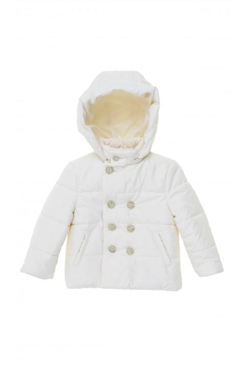 Ecru boy baptism coat, Colorichiari