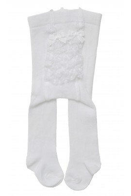 White cotton tights, Story Loris