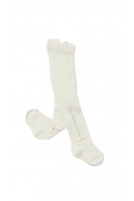 Ecru cotton tights, Story Loris