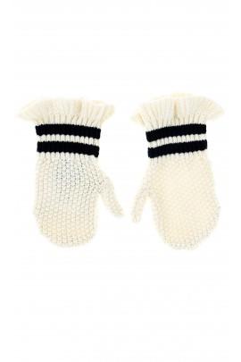 White baby gloves, Polo Ralph Lauren