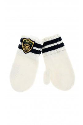 Écru mittens, Polo Ralph Lauren