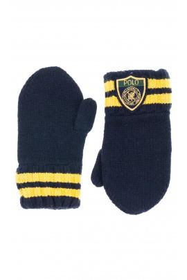 Navy blue mittens, Polo Ralph Lauren