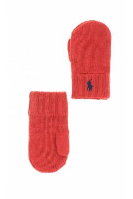Red mittens, Polo Ralph Lauren