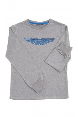 Grey boy T-shirt, Aston Martin