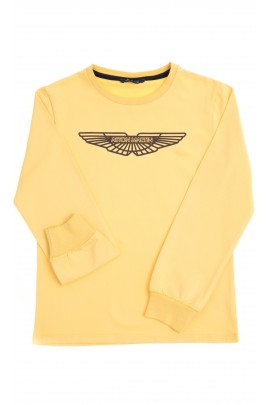 Yellow boy T-shirt, Aston Martin