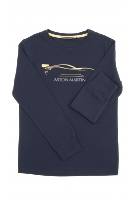 Navy blue boy T-shirt, Aston Martin