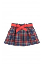 Skirt in red-and-navy blue checker, Polo Ralph Lauren