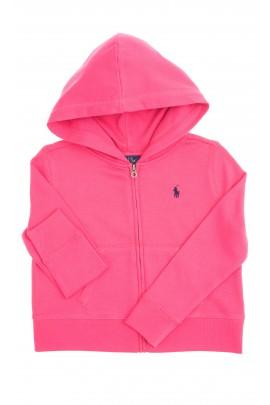 Dark pink hooded sweatshirt, Polo Ralph Lauren