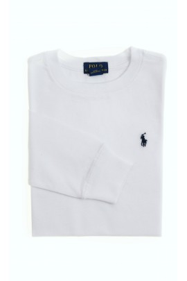 White long-sleeved T-shirt, Polo Ralph Lauren