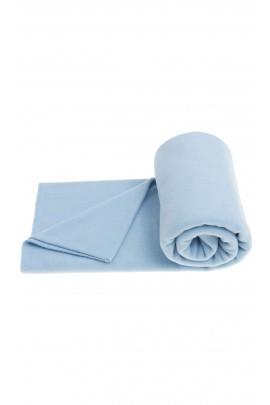Light blue fleece blanket, Zoeppritz