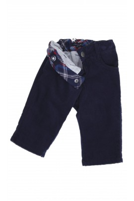 Navy blue corduroy trousers, Tommy Hilfiger