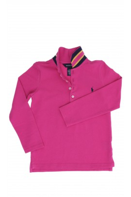 Dark pink girl polo shirt, Polo Ralph Lauren