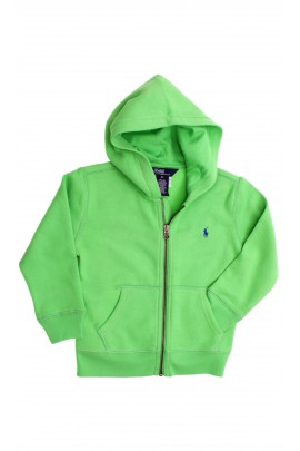 Green hooded sweatshirt, Polo Ralph Lauren