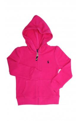 Pink hooded sweatshirt, Polo Ralph Lauren