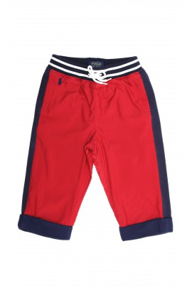 Red trousers, Polo Ralph Lauren
