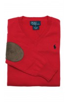 Red sweater, Polo Ralph Lauren