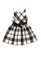 Dress in white-and-black checker, Polo Ralph Lauren