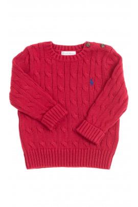 Red boy sweater, Polo Ralph Lauren