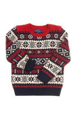 Patterned boy sweater, Polo Ralph Lauren