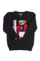 Black boy sweater with a bear, Polo Ralph Lauren