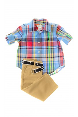 Boy set: shirt and trousers, Ralph Lauren