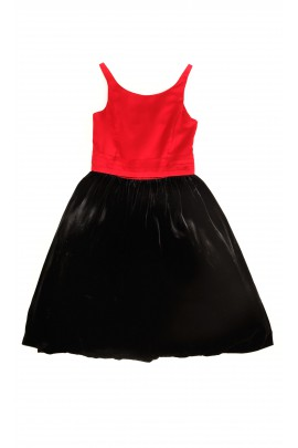 Red-and-black dress, Polo Ralph Lauren