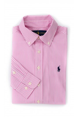 Boys pink striped shirt, Polo Ralph Lauren