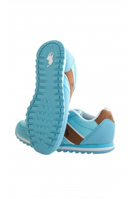 Turquoise-brown sports shoes, Polo Ralph Lauren