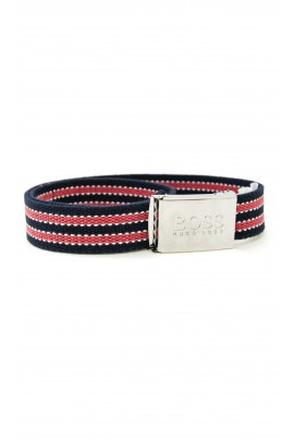 Red-navy blue belt, Hugo Boss