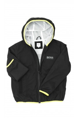 Boys black windcheater, Hugo Boss