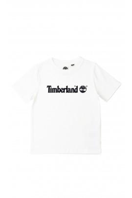 White short-sleeved T-shirt, Timberland