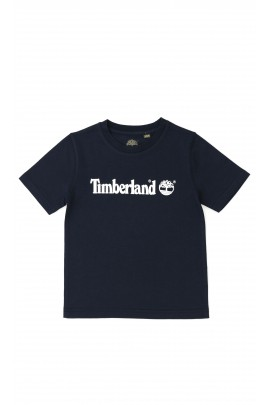 Navy blue boys T-shirt, Timberland