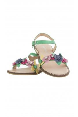 Green sandals, Florens