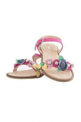 Pink sandals, Florens