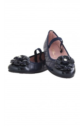 Navy blue ballet flats, Pretty Ballerinas