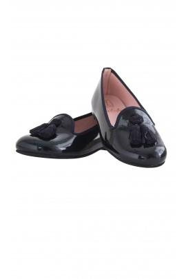 Navy blue shoes, Pretty Ballerinas