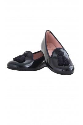 Navy blue shoes, Pretty Ballerinas