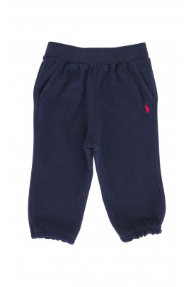 Navy blue tracksuit bottoms, Ralph Lauren