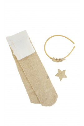Golden headband, Tartine et Chocolat