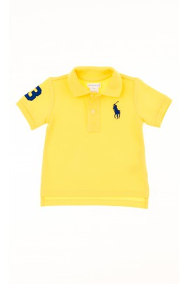 Yellow boy polo shirt, Polo Ralph Lauren