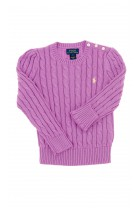 Purple girls sweater, Polo Ralph Lauren
