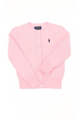 Pink cardigan, Polo Ralph Lauren