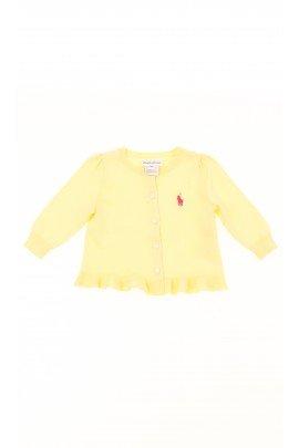 Yellow babys sweater, Polo Ralph Lauren