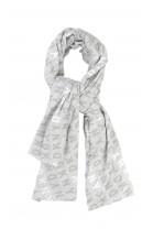 Grey scarf, DKNY